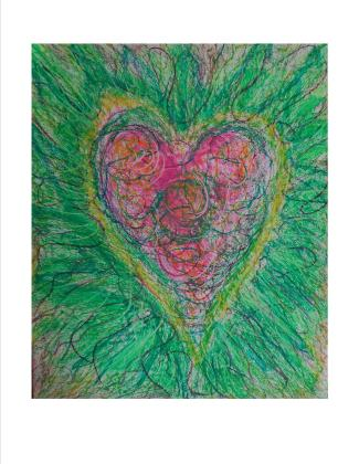heart chakra, heart wisdom, visionary art, chakra balancing, energy centers, energy field healing in the Upper Peninsula of MI