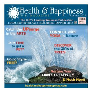 U.P. wellness publication, U.P. holistic health publication, holistic health in MI's Upper Peninsula, U.P. well-being publication